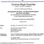 Fortbildungsnachweis Frau Goschler